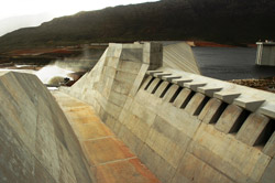 The Autshumato dam (Formerly Berg River dam)